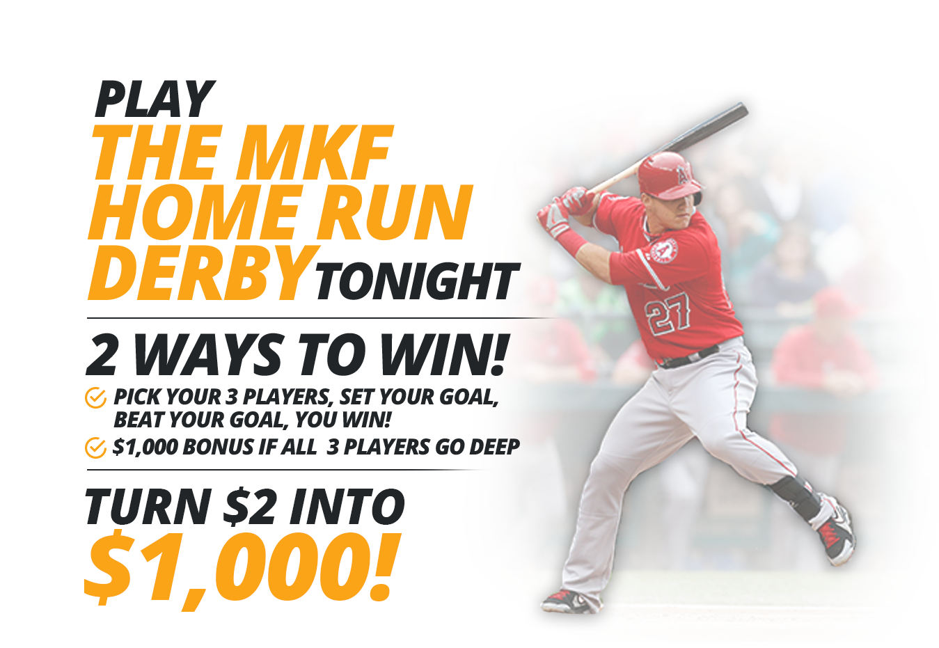 mlb derby video 3 - Mike Trout - Transparent